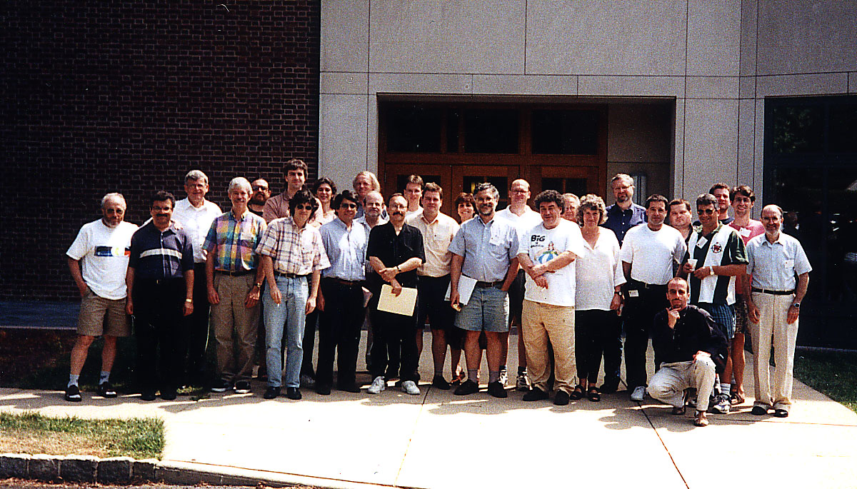 Participants of AofA 1998 in Princeton