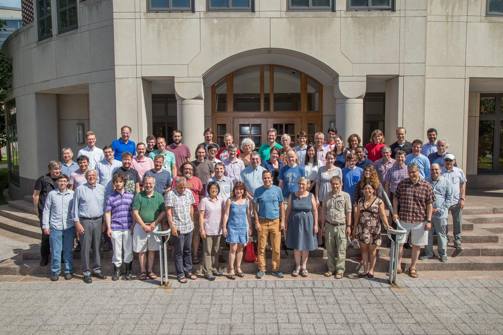 Group photo of the participants of AofA 2017 in Princeton
